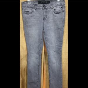 Grane Juniors Skinny Gray Jeans